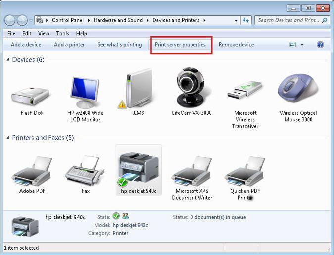 Как сделать принтер сетевым в windows 7